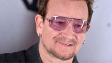 Rock star Bono