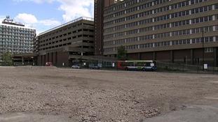 There are plans to develop the site of the former Greyfriars bus station in Northampton.