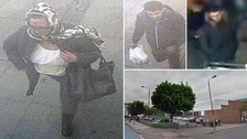 This woman is believed to be involved in the £21,000 theft