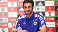 Will Grigg was part of the Northern Ireland squad at Euro 2016 but did not play.