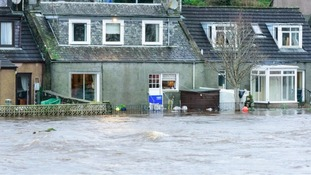 First Minister announces flood funding support on visit to Newton Stewart