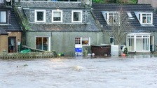 Flooding in Newton Stewart