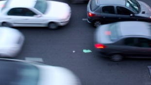 Two lanes are closed on the M6 Northbound Staffordshire