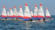 The Topper World Championships yachting races are being held at Ballyholme Yacht Club this year.