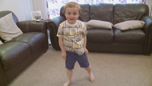 Mother's hopes to raise awareness of rare muscle wasting condition which affects young boys