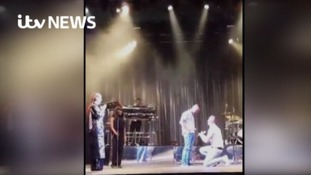 Fan proposes to boyfriend on stage at Jess Glynne gig