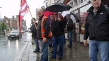 More than a hundred bus drivers across Dorset who walked out on strike will continue to protest into a fourth week.
