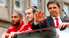 Ashley Williams, Gareth Bale, Chris Coleman