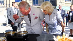 Prince Charles falls for joke from Camilla
