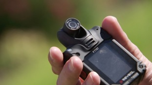 Caught on camera: Police officers will be fitted with body cams