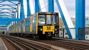 Tyne and Wear Metro train.