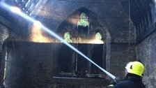 Two boys, aged 11 and 12, arrested for chapel arson