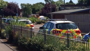 Eyewitness describes moment three shot dead near Spalding swimming pool