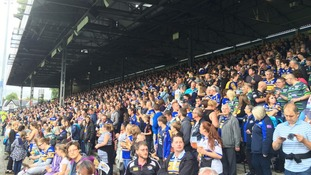 The Rhinos have averaged crowds of over 15,000