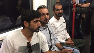 Dubai's Royal Family swap limo luxury for the Central Line