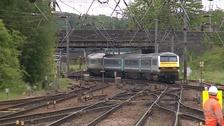 Rails can buckle under intense heat.