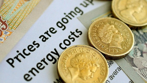 Energy prices increase