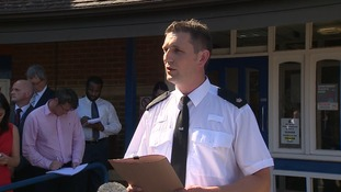 A police press conference took place earlier today.