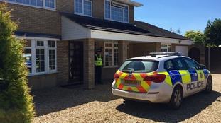 Investigators raided the family home