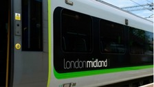 Large scale disruption is reported on London Midland services