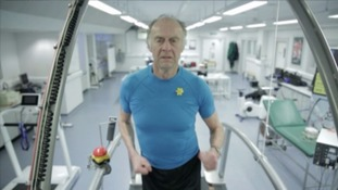 Sir Ranulph Fiennes: 'I use a hook to help me climb'
