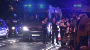 Three stabbed - including a police officer - after mass water fight in Hyde Park descends into violence