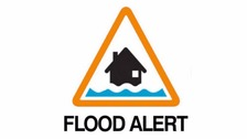 Flood alerts are in place.