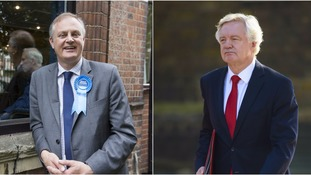 Stewart Jackson (left) will assist David Davis (right).