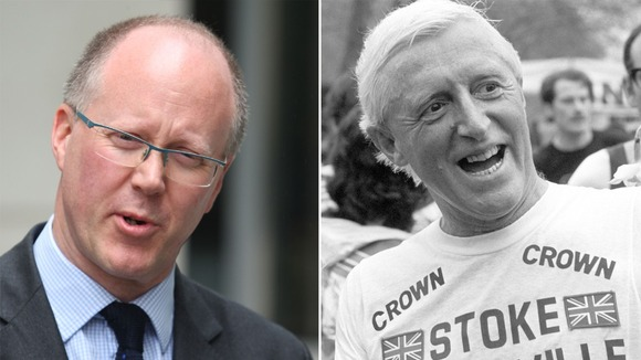 BBC Director-General George Entwistle, left, has announced two inquiries into the Jimmy Savile abuse scandal.