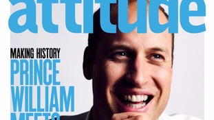 William issue of Attitude set to be magazine's best-seller