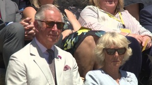 Prince Charles and Camilla in Penzance