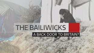 The Bailiwicks, a back door to Britain?