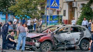 High-profile investigative journalist murdered in Ukraine car bombing