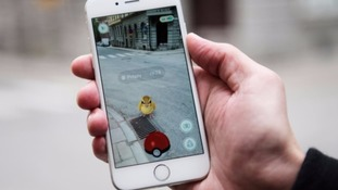 Pokemon in game shot