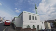 The mosque in Totterdown which was attacked in March 2016