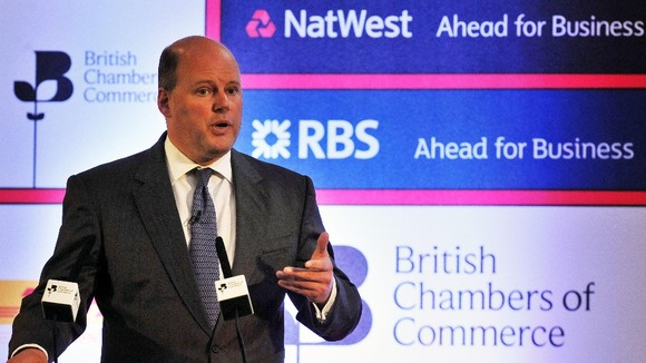 The chief executive of the Royal Bank of Scotland Stephen Hester.