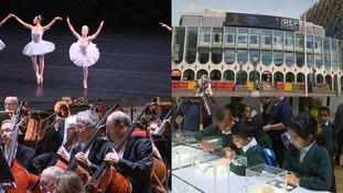 From top left, Birmingham Royal Ballet, Birmingham Rep, CBSO and Birmingham Museum & Art Gallery all seeing council cuts.