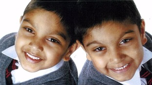 Six-year-old twin boys missing along with their father