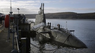 UK nuclear submarine in collision with merchant vessel
