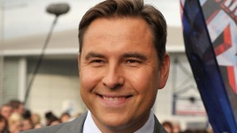 David Walliams will be signing books in Birmingham this morning