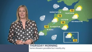 Don't forget the brolly - showers are back on the radar