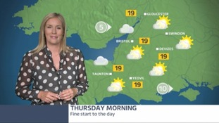 Chances of showers but mostly a dry day