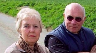 It's alleged Mr Qazimaj killed Peter and Sylvia Stuart.