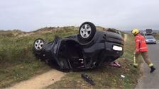 Police appeal for witnesses after five mile road crash