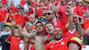Wales fans