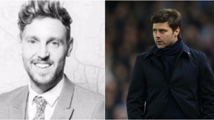 "Shaun Whiter (left) has been described as an ""inspiration"" by Pochettino."
