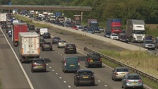 Drivers tackling the M5 could face severe delays