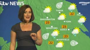 GMB weather update with Amanda Houston