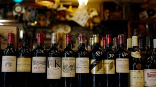 French wine sales to the UK would be hit by new tariffs