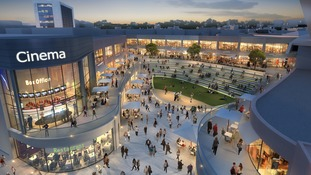 Plans for £75 million shopping centre expansion released